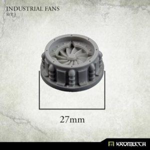 Kromlech   Misc / Weapons Conversion Parts Industrial Fans Set 3 (5) - KRBK047 - 5908291070281
