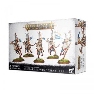 Games Workshop Age of Sigmar  Lumineth Realm-lords Lumineth Realm-lords Hurakan Windchargers - 99120210030 - 5011921128235