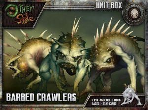 Wyrd The Other Side  Gibbering Hordes Barbed Crawlers - WYR40206 - 812152030343