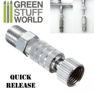 Green Stuff World   Airbrushes & Accessories QuickRelease Adaptor 1/8 - 8436554367788ES - 8436554367788