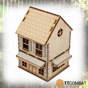 TTCombat   World War Scenics 25mm Village Shop - TTSCW-WAR-041 -