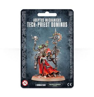 Games Workshop Warhammer 40,000  Adeptus Mechanicus Adeptus Mechanicus Tech-Priest Dominus - 99070116005 - 5011921155415