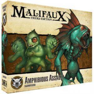 Wyrd Malifaux  Bayou Amphibious Assault - WYR23632 - 812152032095