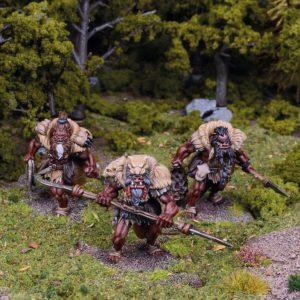 Mantic Kings of War  Ogres Ogre Hunter Regiment - MGKWH103 - 5060208868777