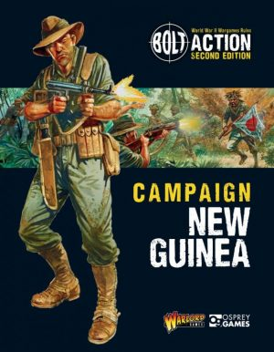 Warlord Games Bolt Action  Bolt Action Books & Accessories Bolt Action Campaign: New Guinea - 409910050 -