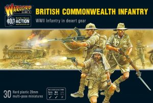 Warlord Games Bolt Action  Great Britain (BA) British Commonwealth Infantry - 402011017 - 5060572502277