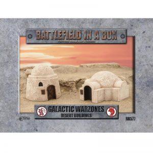 Gale Force Nine   Battlefield in a Box Galactic Warzones: Desert Buildings - BB580 - 9420020239883