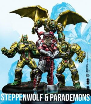 Knight Models DC Multiverse Miniature Game  SALE! DC: Steppenwolf & Parademons - KM-DCUN025 - 8437013055574