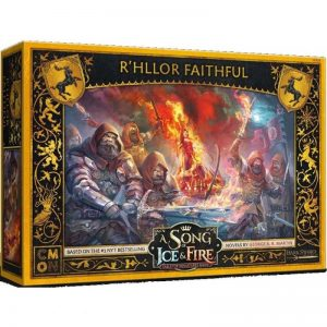 Cool Mini or Not A Song of Ice and Fire  House Baratheon A Song of Ice and Fire: R'hllor Faithful - CMNSIF808 - 889696010216