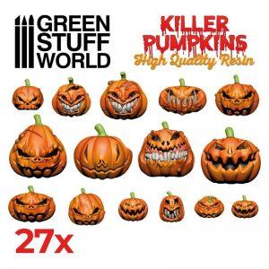 Green Stuff World   Green Stuff World Conversion Parts Resin Killer Pumpkins - 8435646504186ES -