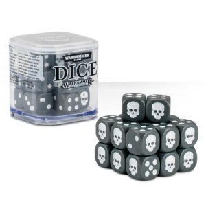 Games Workshop (Direct)   D6 Citadel Dice Cube - Grey - 99229999151 - 5011921068203Gry