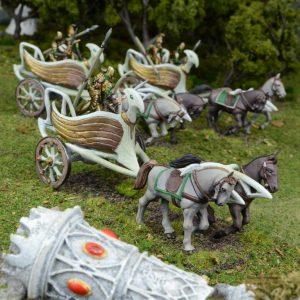 Mantic Kings of War  Elf Armies Elf War Chariot Regiment - MGKWE401 - 5060469660417