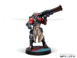 Corvus Belli Infinity  Combined Army Kurgats, Reg. of Assault Engineers (Autocannon) - 280694-0750 - 2806940007509