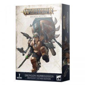 Games Workshop Age of Sigmar  Broken Realms Broken Realms: Drongon's Aether-runners - 99120205042 - 5011921145430