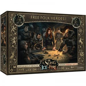 Cool Mini or Not A Song of Ice and Fire  Free Folk A Song of Ice and Fire: Free Folk Heroes #1 - CMNSIF409 - 889696009104