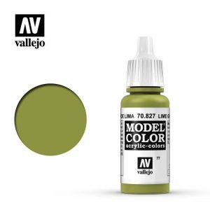 Vallejo   Model Colour Model Color: Lime Green - VAL827 - 8429551708272