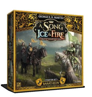 Cool Mini or Not A Song of Ice and Fire  House Baratheon A Song of Ice and Fire: Baratheon Starter Set - CMNSIF008 - 889696010094