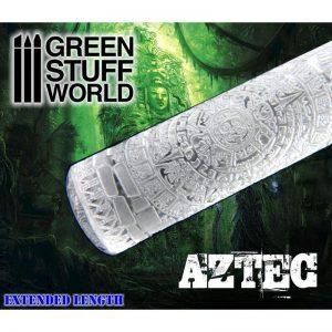 Green Stuff World   Rolling Pins Rolling Pin AZTEC - 8436554363971ES - 8436554363971