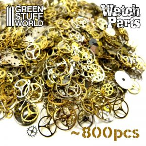 Green Stuff World   Modelling Extras SteamPunk WATCH PARTS 40gr. - 8436554365319ES - 8436554365319