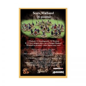 Gripping Beast SAGA  SAGA Scots Warband (6 points) - SSB20 -
