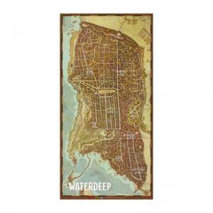 Gale Force Nine Dungeons & Dragons  D&D Game Mats D&D: Waterdeep City Map Vinyl Game Mat - GFN72790 - 9420020245297