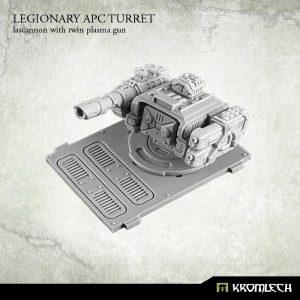 Kromlech   Legionary Conversion Parts Legionary APC turret: Lascannon with twin plasma gun (1) - KRVB021 - 5902216113725