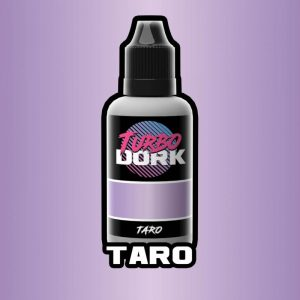 Turbo Dork   Turbo Dork Taro Metallic Acrylic Paint 20ml Bottle - TDTARMTA20 - 631145995076
