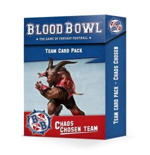 Games Workshop (Direct) Blood Bowl  Blood Bowl Blood Bowl: Chaos Chosen Team Card Pack - 60050901001 - 5011921161102