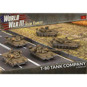 Battlefront Team Yankee  SALE! Soviet T-80 Tank Company - TSBX21 - 9420020251878