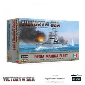 Warlord Games Victory at Sea  Victory at Sea Victory at Sea: Regia Marina fleet box - 742411003 - 5060572506121