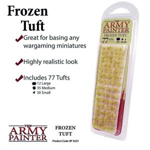 The Army Painter   Tufts Battlefields: Frozen Tuft - APBF4225 - 5713799422506
