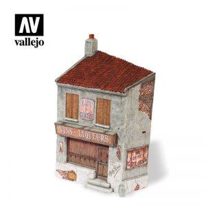 Vallejo   Vallejo Scenics Vallejo Scenics - Scenery: French Cafe - VALSC114 - 8429551987042