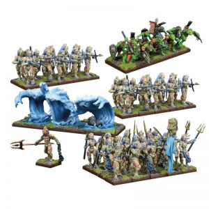 Mantic Kings of War  Trident Realm of Neritica Trident Realm of Neritica Army - MGKWR101 - 5060469660561