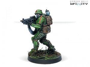 Corvus Belli Infinity  Ariadna Ariadna Veteran Kazaks (AP HMG) - 280197-0722 - 2801970007222
