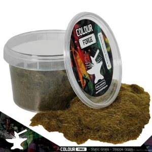The Colour Forge   Sand & Flock Static Grass - Steppe Grass (275ml) - TCF-BAS-025 - 5060843101826