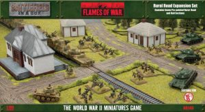 Gale Force Nine   Battlefield in a Box Flames of War: Rural Roads Expansion - BB140 -