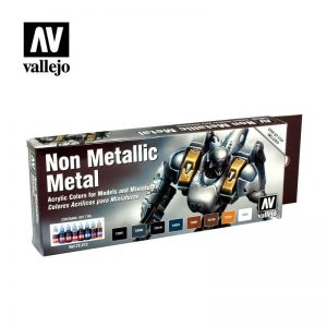 Vallejo   Paint Sets Game Color Set - Non Metallic Metal - VAL72212 - 8429551722124
