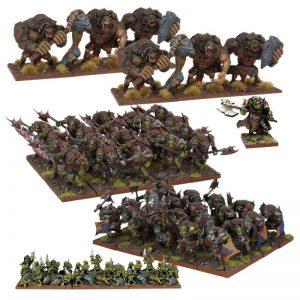 Mantic Kings of War  Orcs Orc Army - MGKWO110 - 5060469661476