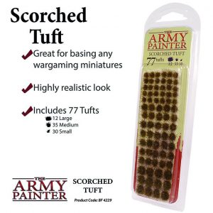 The Army Painter   Tufts Battlefields: Scorched Tuft - APBF4229 - 5713799422902
