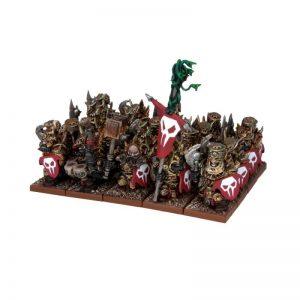 Mantic Kings of War  Abyssal Dwarves Immortal Guard Regiment - MGKWK22-1 - 5060208865370