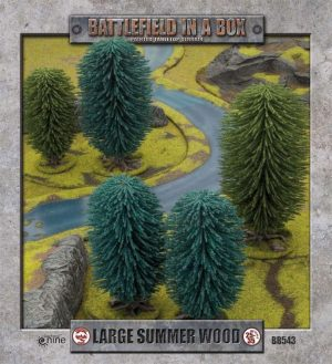 Gale Force Nine   Battlefield in a Box Large Summer Wood - BB543 - 9420020217652