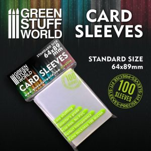 Green Stuff World   Green Stuff World Sleeves Card Sleeves - Standard 64x89mm - 8436574508703ES - 8436574508703