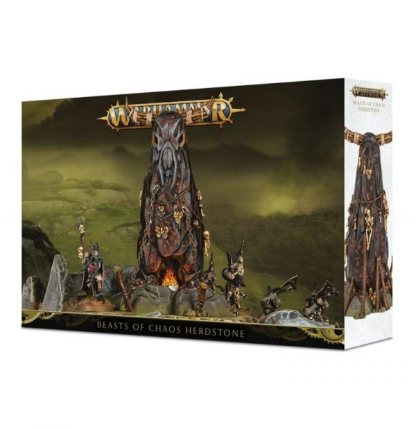 Games Workshop (Direct) Age of Sigmar  Beasts of Chaos Beasts of Chaos Herdstone - 99120216012 - 5011921108206