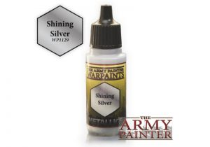 The Army Painter   Warpaint Warpaint - Shining Silver - APWP1129 - 5713799112902
