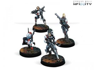 Corvus Belli Infinity  Nomads Riot Grrls - 280586-0651 - 2805860006517