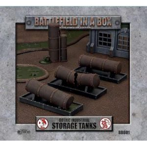 Gale Force Nine   Battlefield in a Box Gothic Industrial - Tanks (x3) - 30mm - BB601 - 9420020247932