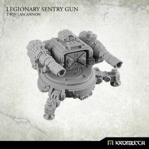 Kromlech   Legionary Model Kits Legionary Sentry Gun: Twin Lascannon (1) - KRM090 - 5902216113589