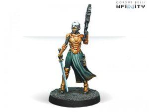 Corvus Belli Infinity  Yu Jing Imperial Agent Pheasant Rank (Red Fury) - 280386-0607 - 2803860006070