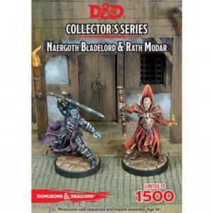 Gale Force Nine Dungeons & Dragons  D&D Miniatures D&D: Naergoth Bladelord & Rath Modar - GFN71036 - 9420020226906
