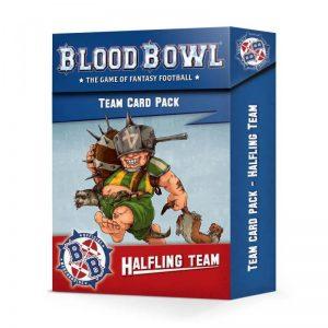 Games Workshop (Direct) Blood Bowl  Blood Bowl Blood Bowl: Halflings Team Card Pack - 60050999005 - 5011921156917